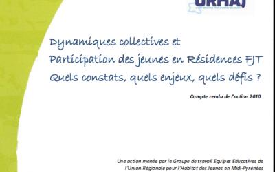 La participation des résidents en Habitat Jeunes
